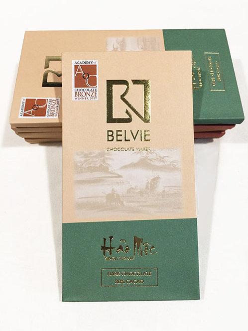 Chocolat Hao Moc - Belvie - 80% cacao - Tablette de 80 g