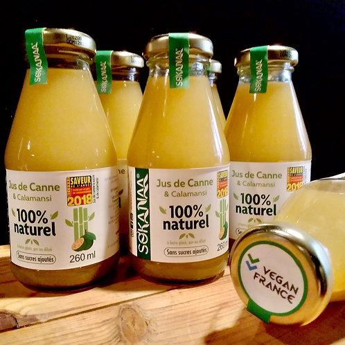 Jus de canne à sucre original - 260 ml - Lot de 6 bouteilles
