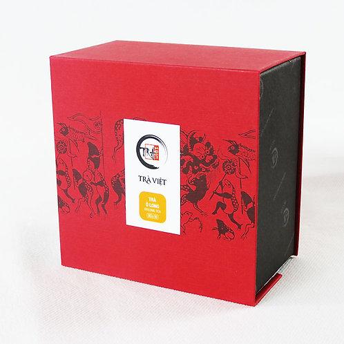 Thé Oolong - Trà Việt - Boîte carrée - 10 sachets de 8 g