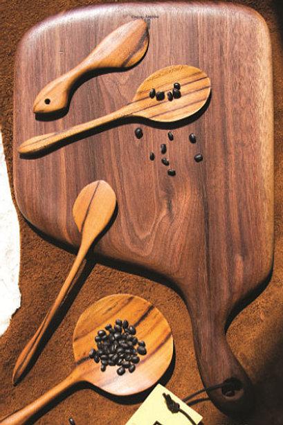 Planche à découper en bois teck