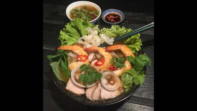 Soupe Phở aux crevettes - Recette vietnamienne