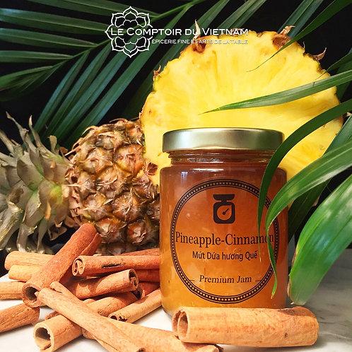 Confiture ananas cannelle - La Petite Épicerie Saigon - Pot de 220 g