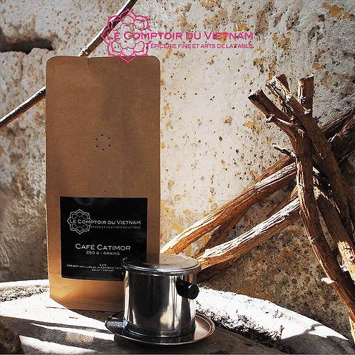 Café moulu vietnamien - Catimor - Paquet de 250 g