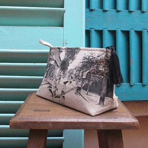Pochette de voyage - Rue Catinat Saigon - Very Ngon - 20 cm x 13 cm