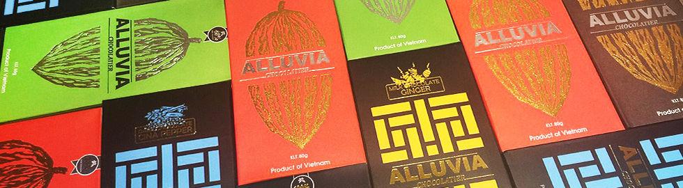 Chocolat alluvia, chocolat du Vietnam, chocolat vietnamien, le comptoir du Vietnam