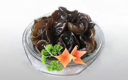 Les champignons noirs déshydratés