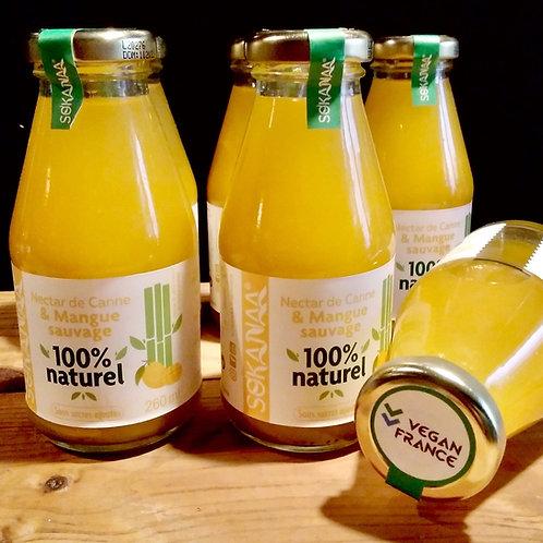 Nectar de canne à sucre et Mangue sauvage - 260 ml - Lot de 6 bouteilles