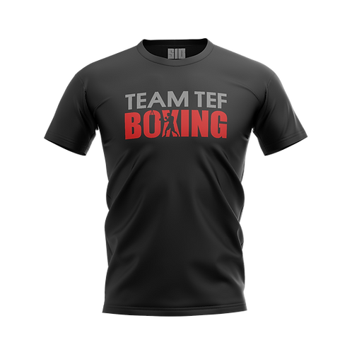TEF BOXING T-SHIRT (BLACK)