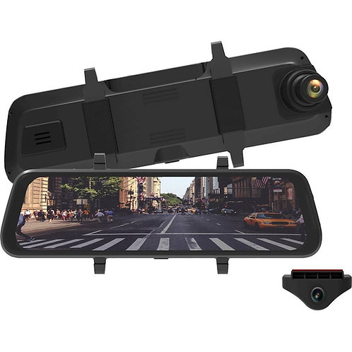 MyGekoGear InfiniView Dual Channel HD Dash Camera