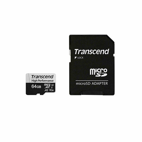 Transcend High Performance 64GB Micro SD Card