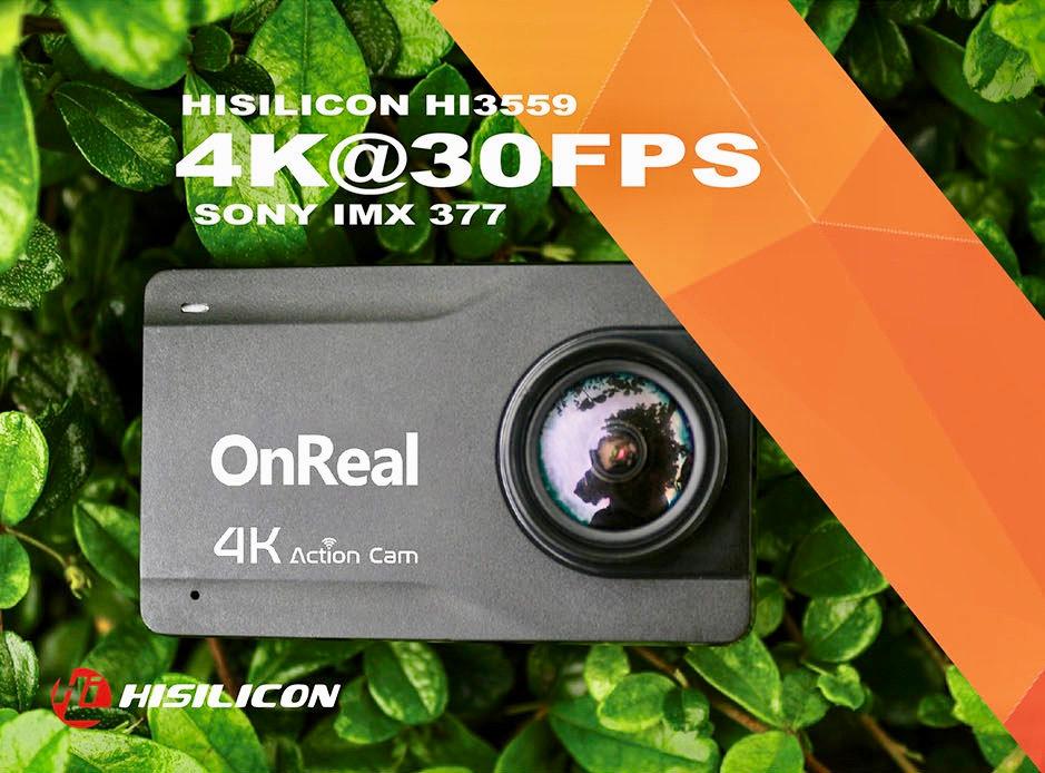 OnReal B1KS+ 4K Action Camera