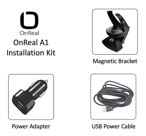OnReal A1 Dash Camera Installation Kit