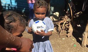 Haiti soccer donations