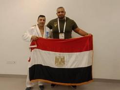 البطل المصرى طارق مطر يضيف ميدالية رابعة لمصر فى ختام  بطوله العالم للجيوجيتسو بابوظبي