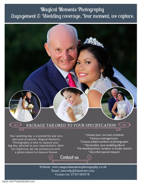 Copy of Wedding Photography Flyer Templa