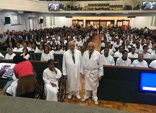AD Belo Horizonte batiza 161 novos membros no mês de junho