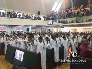 ADBH batiza 101 novos membros no mês de Julho