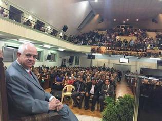 Pastor Presidente Simoni Hélio de Moraes completa hoje, dia 31 de Março 46 anos de Ministério.