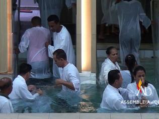ADBH batiza 186 novos membros no mês de Março