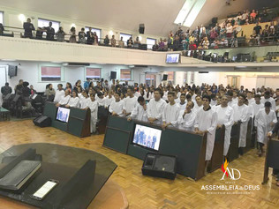 ADBH batiza 93 novos membros no mês de Junho