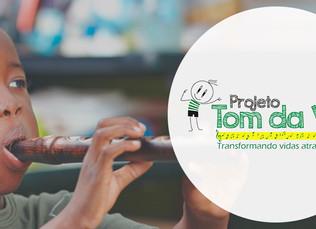 Projeto Tom da Vida - Funcionários da Assembleia de Deus se mobilizam em prol de crianças em comunid