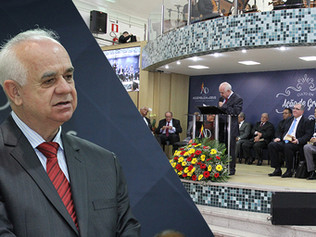 ADBH celebra aniversário do seu Pastor Presidente Simoni Hélio de Moraes