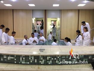 ADBH batiza 91 novos membros no mês de Abril