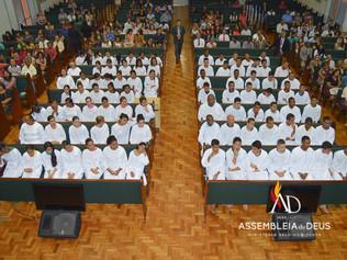 ADBH batiza 92 novos membros no mês de Junho