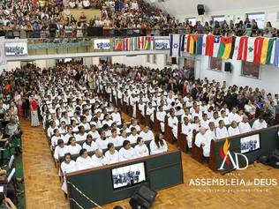 ADBH celebra 50 anos de batismo do Pastor Presidente batizando 500 novos membros