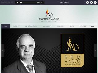 Entrevista - Pr. Adolfo Pereira conta como foi o processo de criação do novo site ADBH