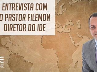 Entrevista – Pr. Filemon apresenta as modificações do Departamento de Missões IDE