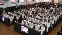 ADBH batiza 132 novos membros no mês de Setembro