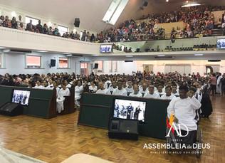 ADBH batiza 286 novos membros no mês de Dezembro