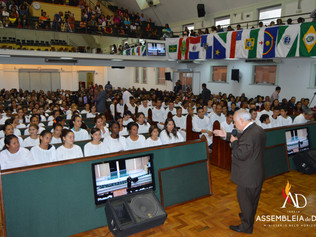ADBH batiza 103 novos membros no mês de Maio