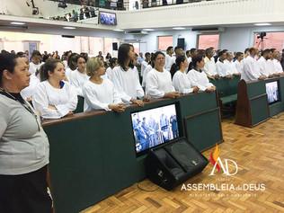 ADBH batiza 61 novos membros no mês de Outubro