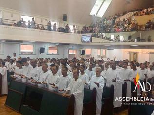 ADBH batiza 131 novos membros no mês de Março