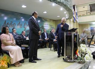 ADBH celebra aniversário do 1º Vice Presidente Pastor José Vieira Izidório