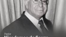 Nota de Falecimento - Pastor Nicodemos de Souza