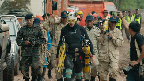 The first feature about last summer's sensational Thai cave rescue mission is out.