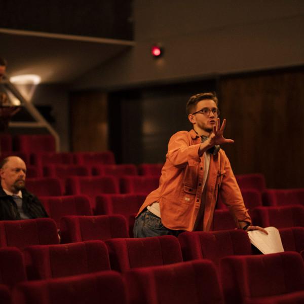 Kristoffer Bjerg directing