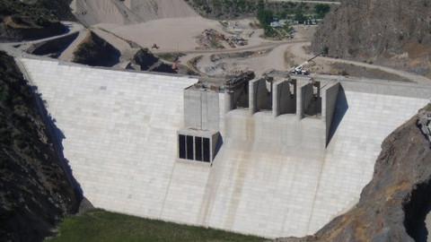 Hakkari-Çocuktepe ve Gölgeliyamaç Barajları İnşaatı