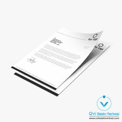 Antetli Kağıt -2