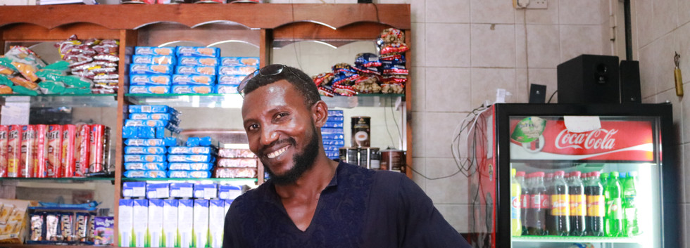 The bar for African migrants to hang out is owned by a Sudanese migrant, who has been living in Malta for more than ten years.