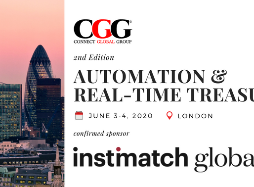 Sponsor Announcement: Instimatch Global - 2nd Edition Automation & Real-Time Treasury