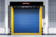 High Speed Insulated Fabric Door