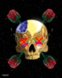 Golden skull rose.JPG