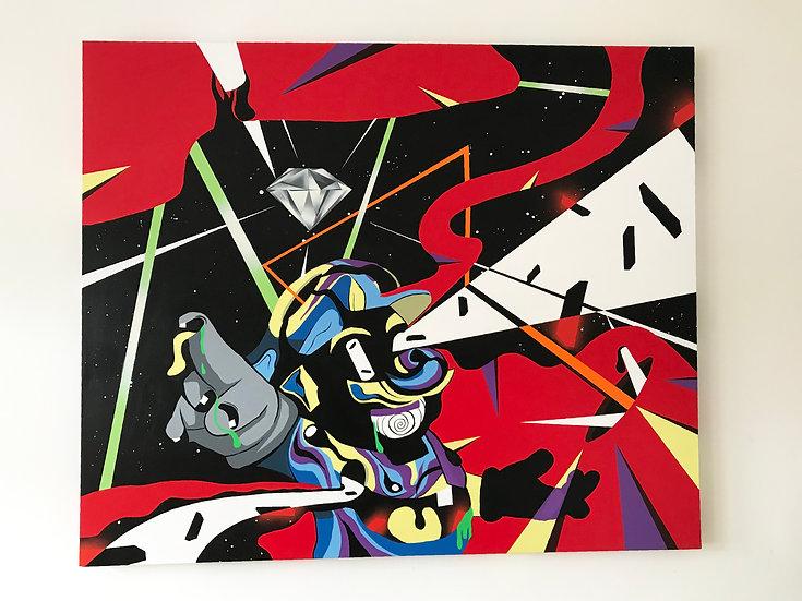 Mario Flavours Original Painting