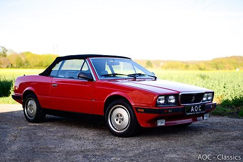 Maserati Biturbo Zagato Spider - 1989