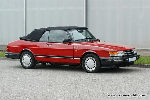 SAAB 900 Turbo cabriolet - 1990