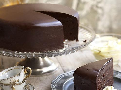 Chocolate mud cake (3 sizes, 48h notice)